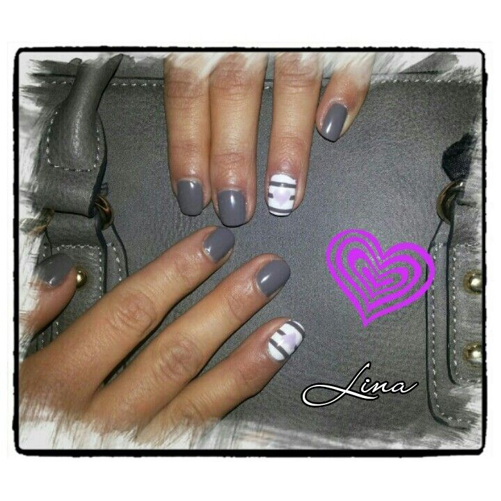 Gelpolish &handmade nailart