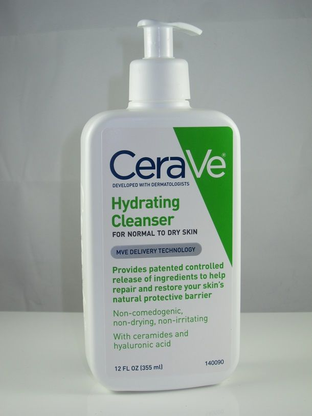 Cerave hydrating cleanser for oily skin