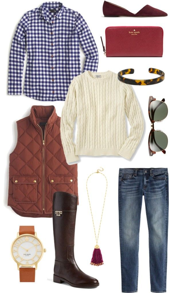 Preppy and Classic fall outfit inspiration