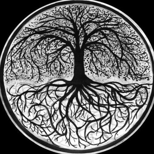 Arsen Celtic Irminsul Of Thor Life Girl NEW YGGDRASIL TREE LOGO I GIRLIE SHIRT