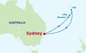 9 Night South Pacific Cruise on the Radiance of the Seas, Royal Caribbean