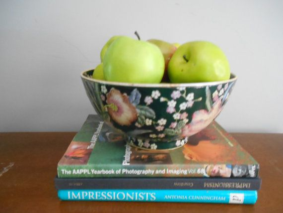 Chinoiserie/Asian Decorative Bowl by SouthernWaterlillies on Etsy
