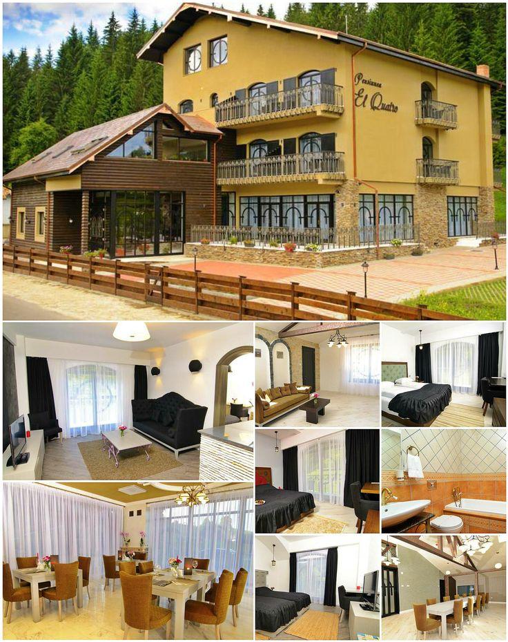 El-Quatro Boutique Hotel si-a deschis portile in Iunie 2012, in Voronet - Gura Humorului, zona idilica din Bucovina. El Quatro este proiectat si realizat dupa un concept de Boutique hotel, avand dotari de calitate, moderne, dispuse  armonios, pentru a creea o atmosfera romantica & confortabila. Hotelul este unic din punct de vedere al designului interior & exterior si se integreaza frumos in natura inconjuratoare, padurea fiind in imediata vecinatate.