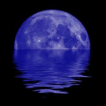 January 30, 2014: Blue Moon/Black Moon (New Moon)