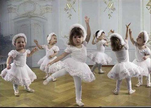 Little ballerinas