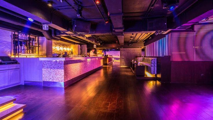 7 Heaven Night Club In Lan Kwai Fong Hong Kong Designed By Liquid Interiors Night Club Design