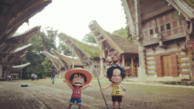 World Collection Figure Luffy Anda Ace #Toraja
