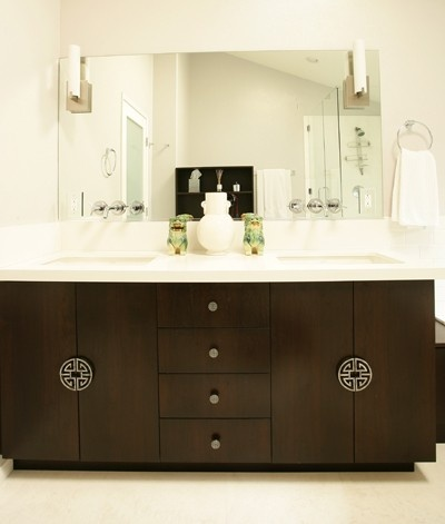 Slab Front Cabinets Style Pinterest