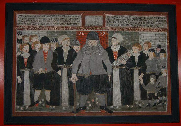 Bjørn Frøysok med familie anno 1699.  Det viser bonden Bjørn Frøysok fra Gol i Hallingdal med familie, koner og barn, døde og levende.Epitafium som hang i Gol stavkirke.  Idag henger det på Norsk Folkemuseum på Bygdøy, Oslo.