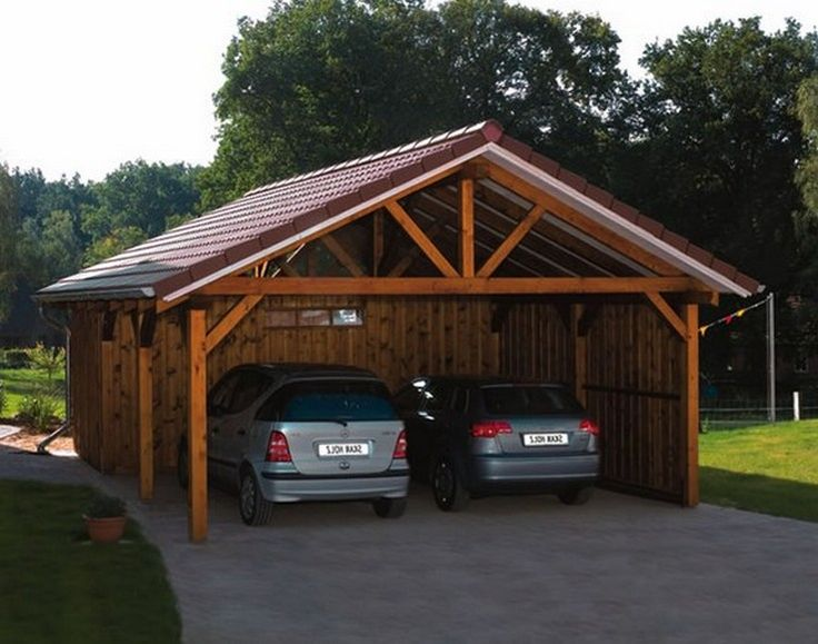 1000 Ideas About Wood Carport Kits On Pinterest Car
