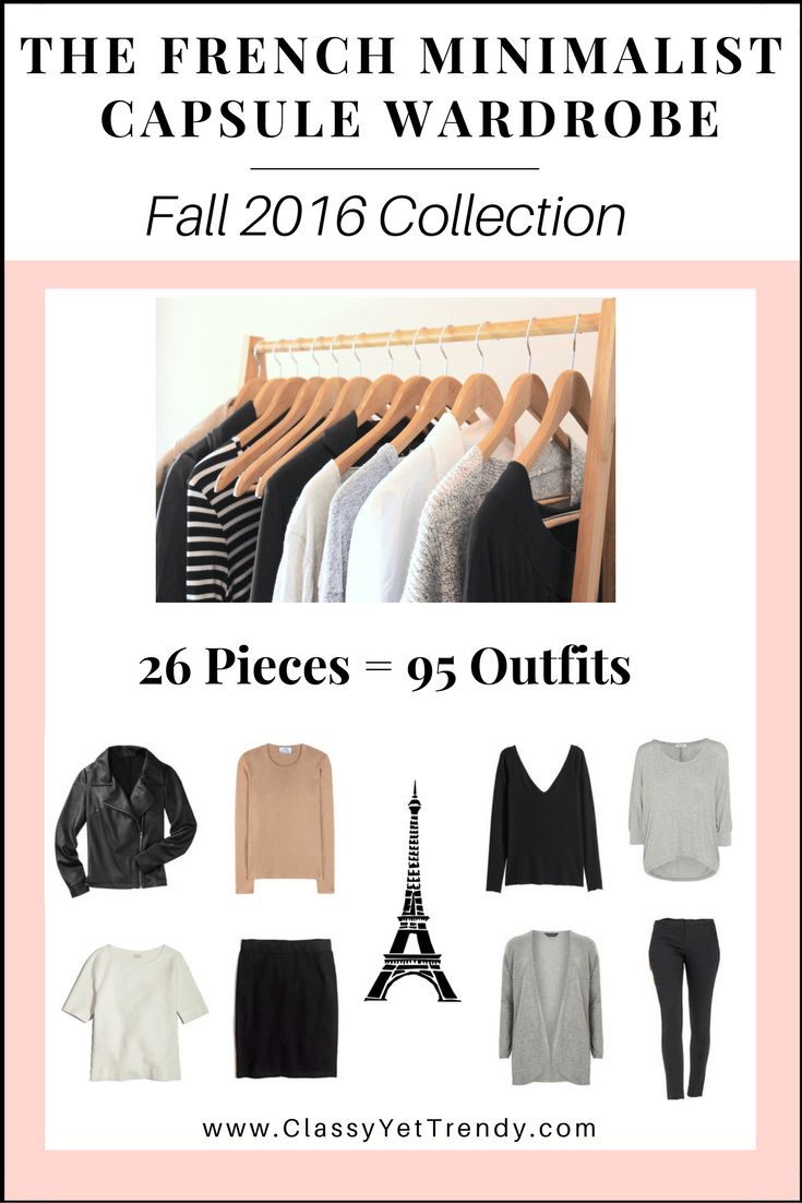 create a french minimalist capsule wardrobe on a budget 10 fall outfits capsule wardrobe. Black Bedroom Furniture Sets. Home Design Ideas