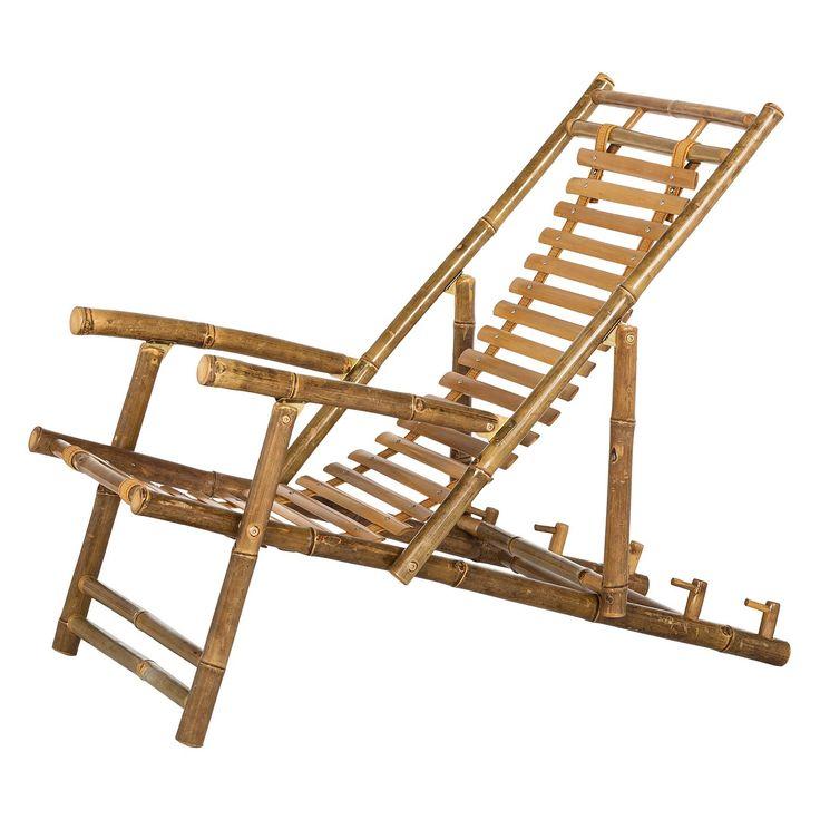 Fancy Liegestuhl Bamboo Bambus massiv ars manufacti Jetzt bestellen unter https moebel ladendirekt de garten gartenmoebel gartenliegen uid udcecaf