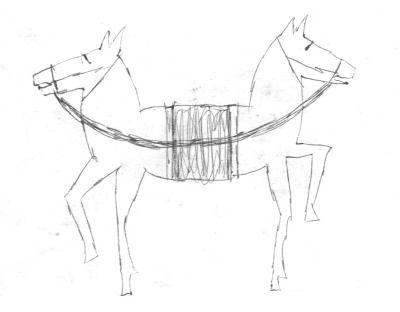double head horse / 1995