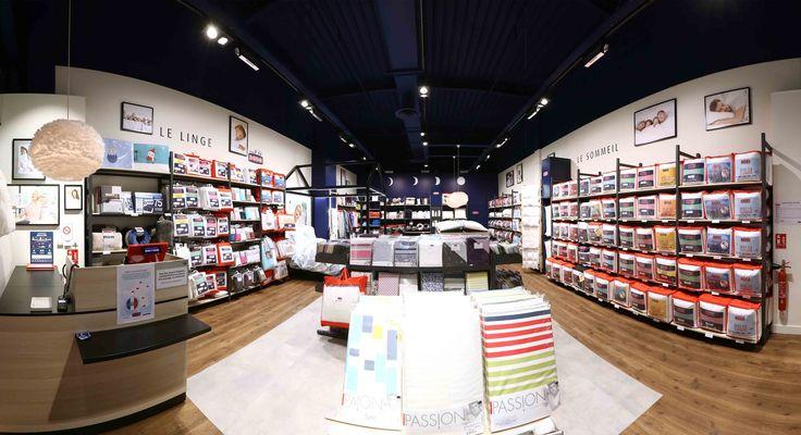 agencement magasin décoration - agencement magasin literie sommeil - mobilier literie