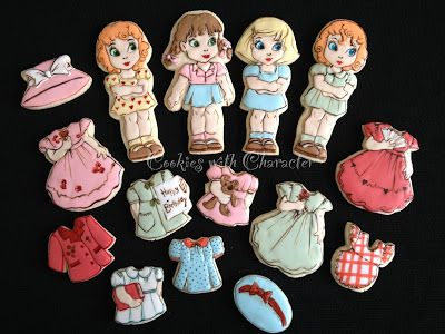 Cookies with Character: Paper Dolls