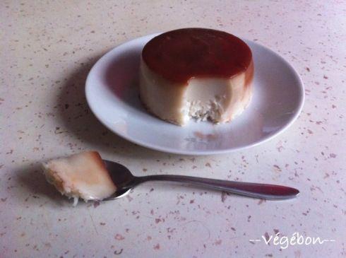 Flan magique à la noix de coco (sans oeuf) | Végébon