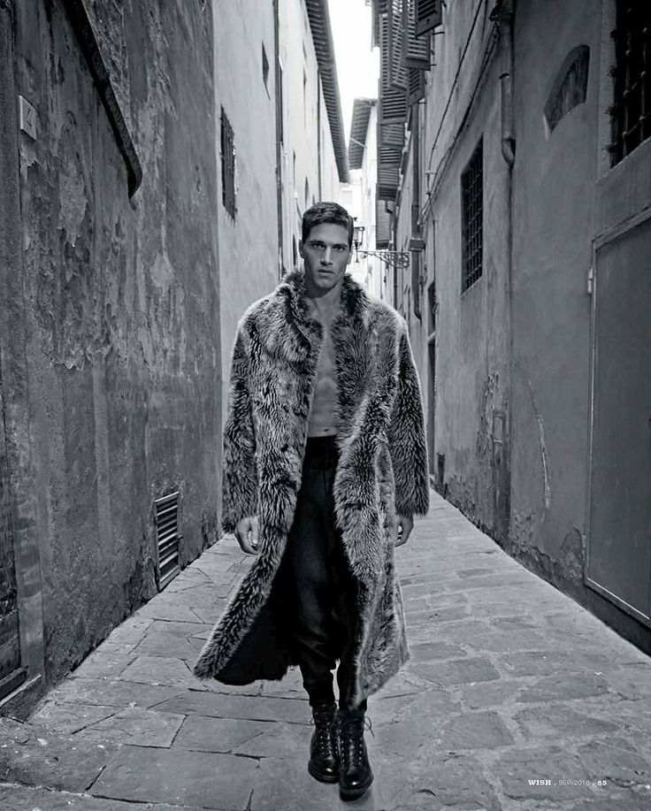 Fabio Mancini in Giorgio Armani for Wish Magazine September issue 2016