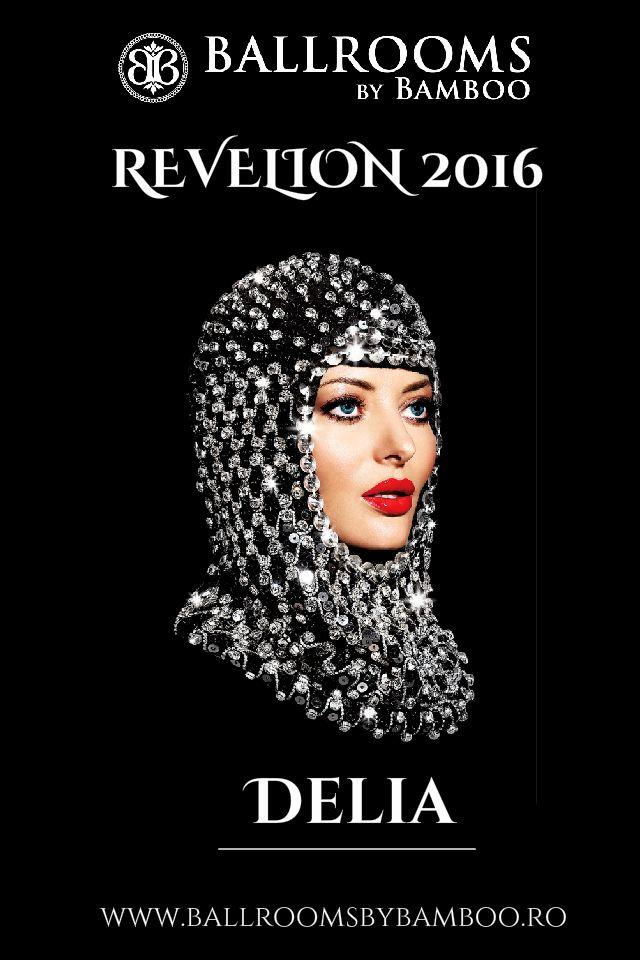 Delia va concerta in noaptea dintre ani la cel mai sofisticat, luxos si exclusivist Revelion 2016 organizat de Ballrooms by Bamboo! Lansarea programului Revelion 2016 și start rezervări - miercuri, 11.11.2015! Mai multe detalii - office@ballroomsbybamboo.ro #comingsoon #staytuned #revelionpecovorulrosu #celebritygala