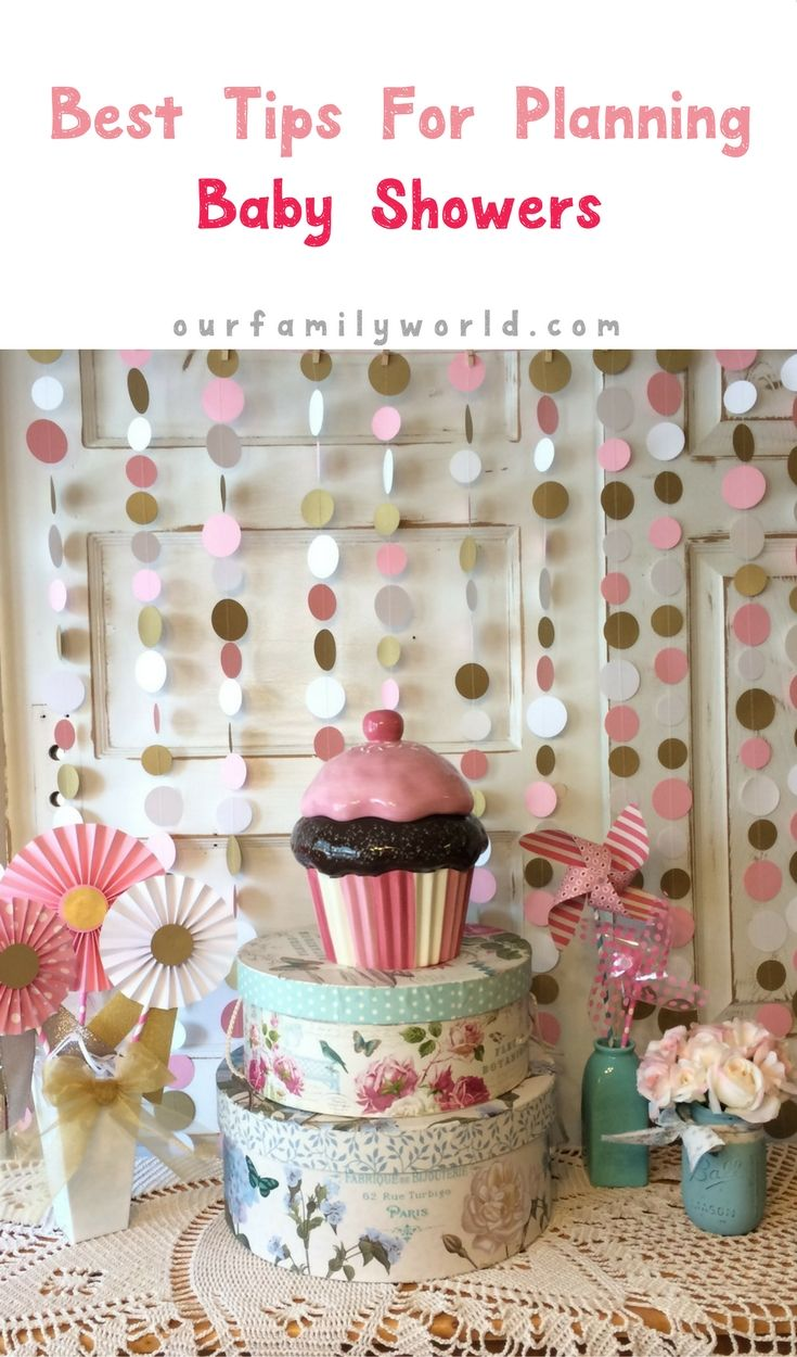 Ideas For Planning Baby Showers