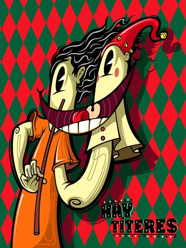 Hay Títeres!!!! by Elmer Sosa, via Behance