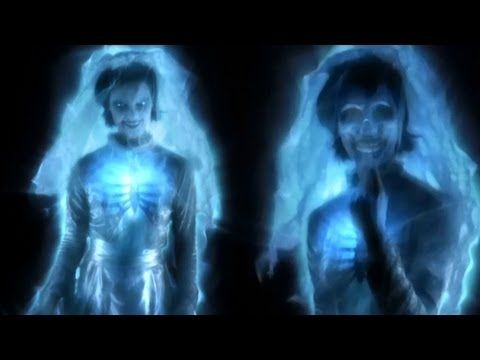 ▶ Ghostly Apparitions Full Demo: Digital Halloween Projection Decorations - YouTube