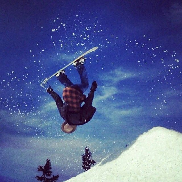 "#ReasonsToLoveWhistler ""Whistler - I get off of work and do the thing I love most... snowboarding!"" - Kenny Wenzel"