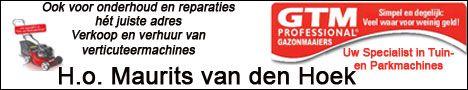Banner veranderd voor Handelsonderneming Maurits van den Hoek. Handelsonderneming Maurits van den Hoek is gespecialiseerd in in- en verkoop van tuin- en parkmachines en aanverwante artikelen. Tevens verrichten zij reparaties, onderhoud en revisie in hun eigen werkplaats. Producten zijn op afspraak af te halen of kunnen bezorgd worden door heel Nederland. Daarnaast bieden zij voor reparatie en onderhoud een haal- en brengservice door heel Nederland…