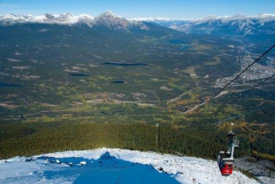 Jasper Tramway, Whistlers Mtn. Jasper, Canada