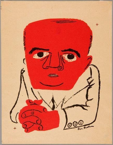 Ben Shahn, J. Parnell Thomas, 1947, Harvard Art Museums/Fogg Museum.