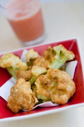 Couve-Flor à Milanesa na Airfryer: Estava com um buquê lindo de couve-flor dando sopa na geladeira. Queria fazer couve-flor empanado, na minha geringonça predileta, claro, para não ...