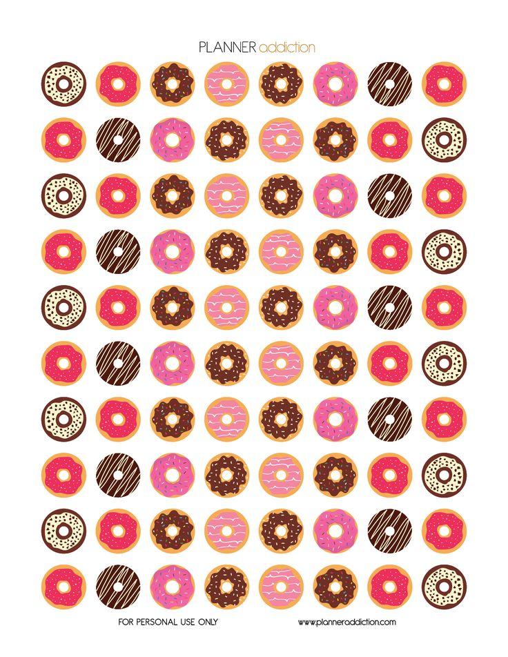 Donuts (Planner Addiction)