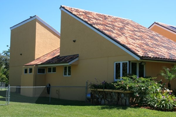 The Most Professional Roofing Contractors In Miami Installed Santa Fe Clay  Tiles Elegantly Consisting Of Red