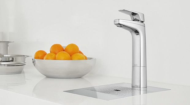 Billi B-6000. Instant boiling water or refreshing chilled water. Billi have said to us that they took over 2 years to develop this range, so there has been some serious R that has gone into it. Nice to see an Australian appliance company competing internationally!