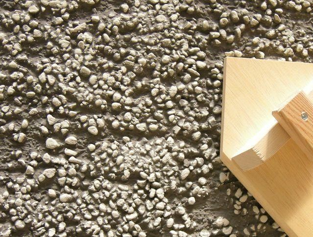 Kellenwurf Mineral rundkorn gezogen - Fassadensysteme, Wärmedämmsysteme, hinterlüftete Fassade, Natursteinfassade