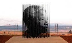The #Mandela Monument at the #MandelaCaptureSite finishing place of Inaugural #MandelaMarathon 2012 #LookingBack -