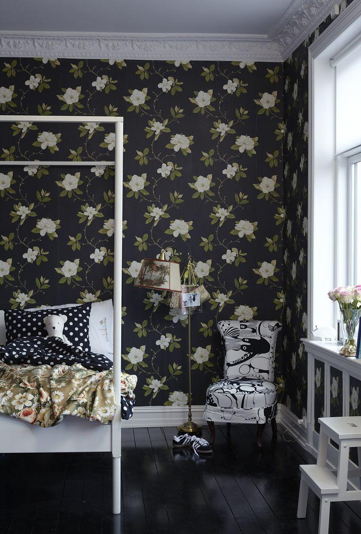 Dark Floral Wallpaper 2