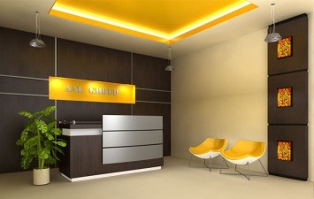 Cool Peaceful Office Reception Area Teknokaucuk Lobi Pinterest Largest Home Design Picture Inspirations Pitcheantrous