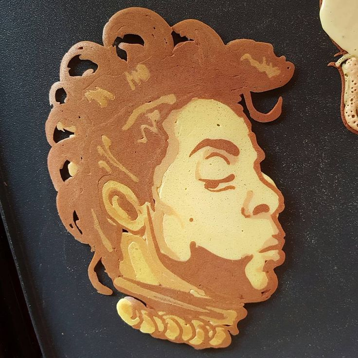 "2,753 Likes, 24 Comments - Dancakes (@drdancake) on Instagram: ""Prince Pancake Art. #dancakes #pancakeart #prince"""
