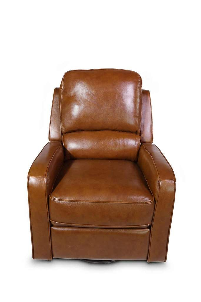 Astonishing Saddle Leather Swivel Glider Recliner In 2019 Swivel Caraccident5 Cool Chair Designs And Ideas Caraccident5Info