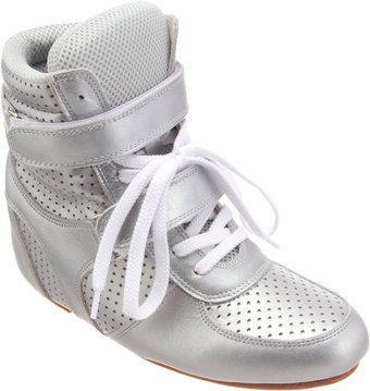 Junya Watanabe Perforated Wedge Sneaker - Lyst