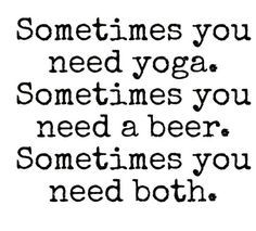 Its about Balance! But don't let the sunny patio beers keep you away from your m… – Quotes
