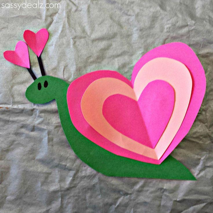 snail-heart-craft-for-kids