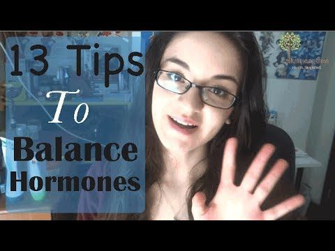 13 Tips to Balance Your Hormones (A Complete Guide!) - YouTube