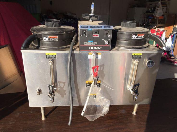 BUNN Coffee Maker Urn U3 Commercial 3 Gallon Twin Automatic Stainless Steel #BUNN