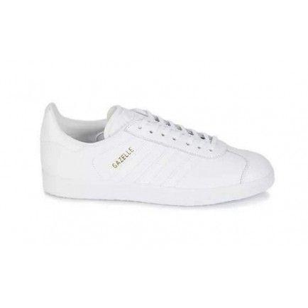 promo code 72702 873d0 Adidas Gazelle LifeStyle Shoes All White