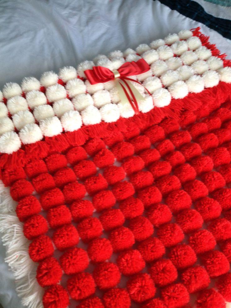 Just Love This Pompom Blanket Still For Sale Crafts