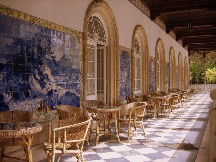 Tiles in Hotel Palace do Bussaco - Azulejos no Hotel Palace do Bussaco #azulejo #portugal #portuguese #art