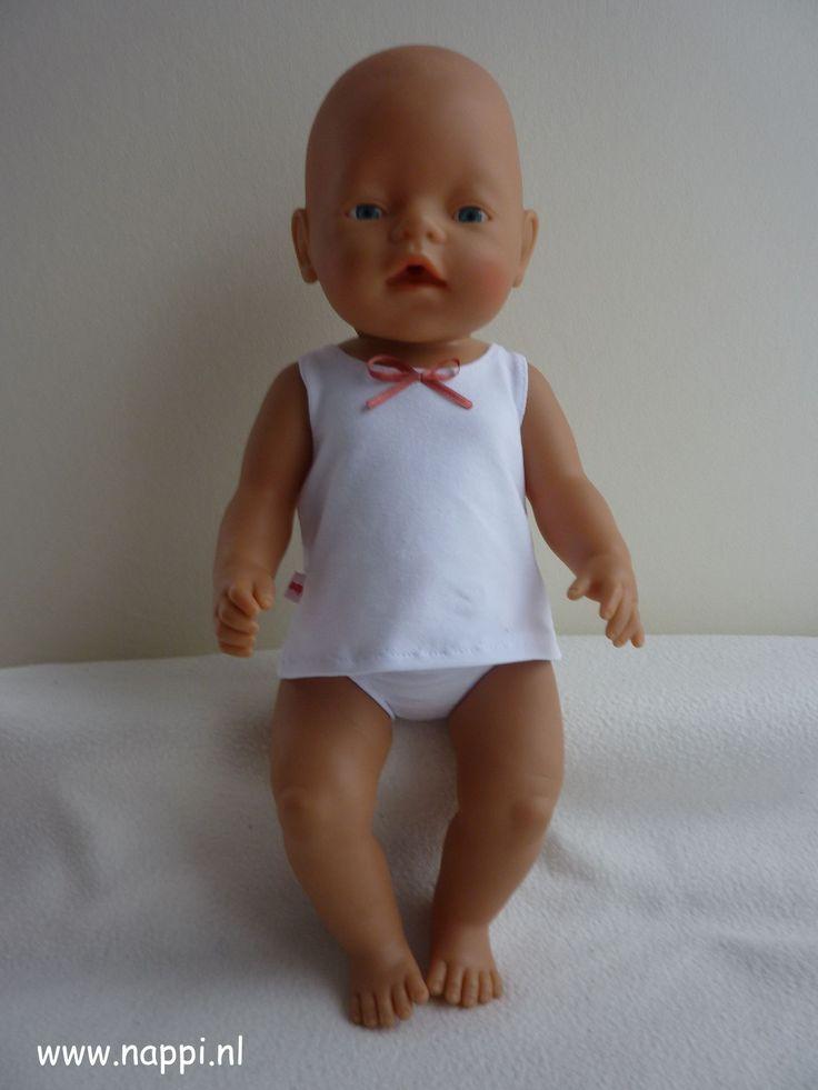 Bed en bad / Baby Born 43 cm   Nappi.nl Eigen ontwerp