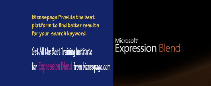 Expression Blend is an authoring system for professional designers to build user experiences that target the .NET 3.0 platform or Windows Presentation Foundation! Learn more about Expression Blend on ‪#‎biznespage‬ http://www.biznespage.com/category/expression-blend/
