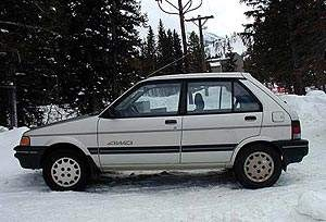 My Old Subaru  1992 Justy 4WD.. I loved this car!